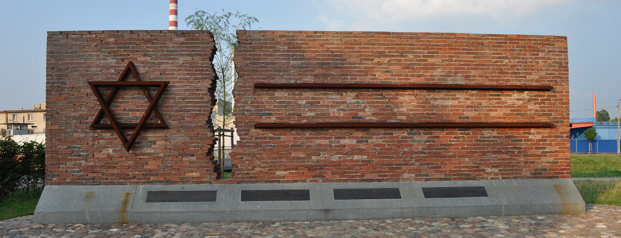 Holocaust Monument in the Częstochowa Warta train station.