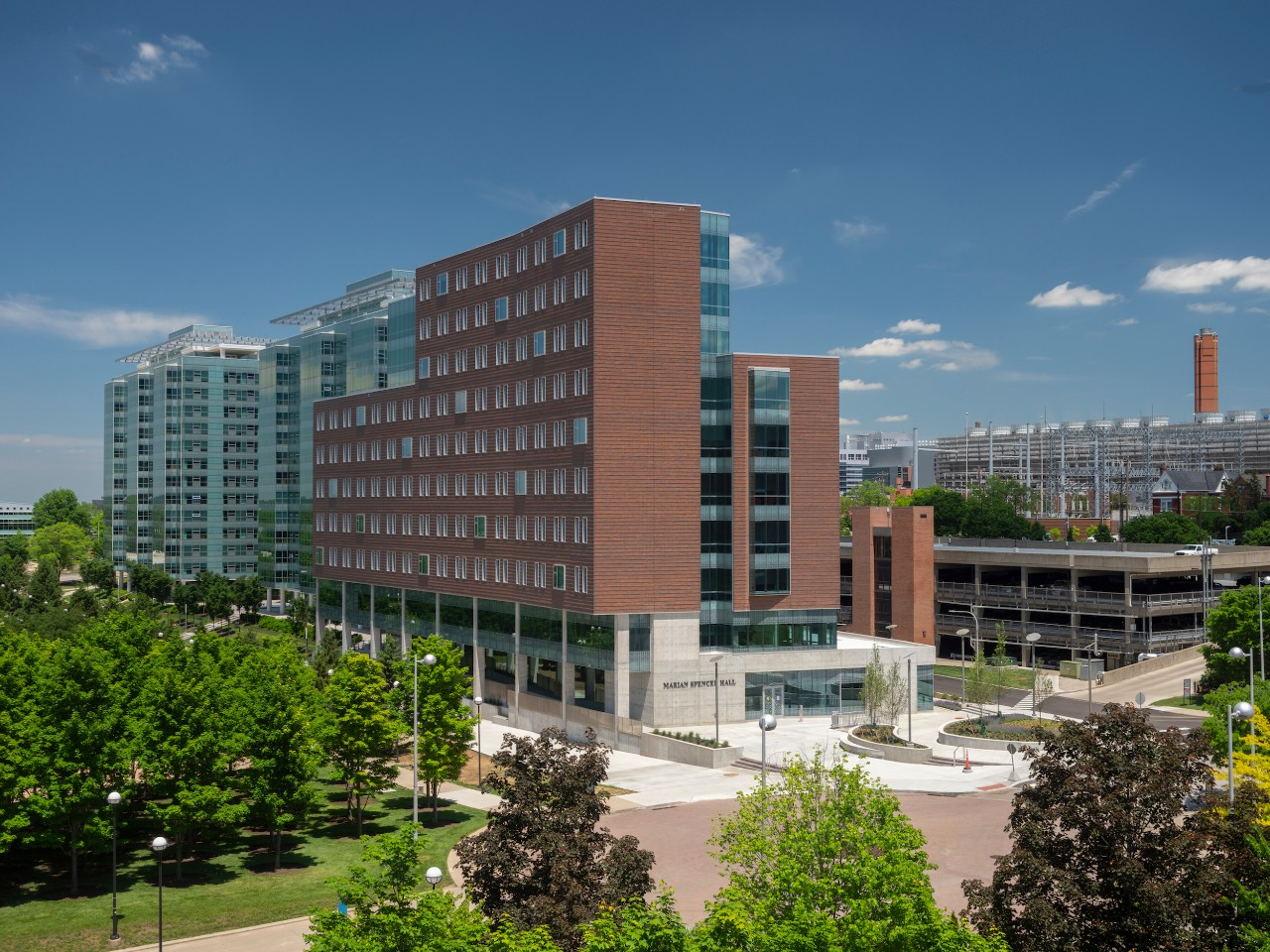 Marian Spencer Hall on the UC campus