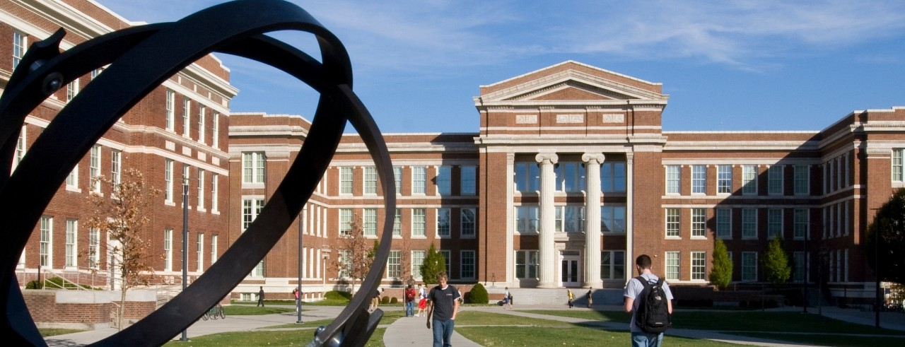 Baldwin Quad area at the University of Cincinnati