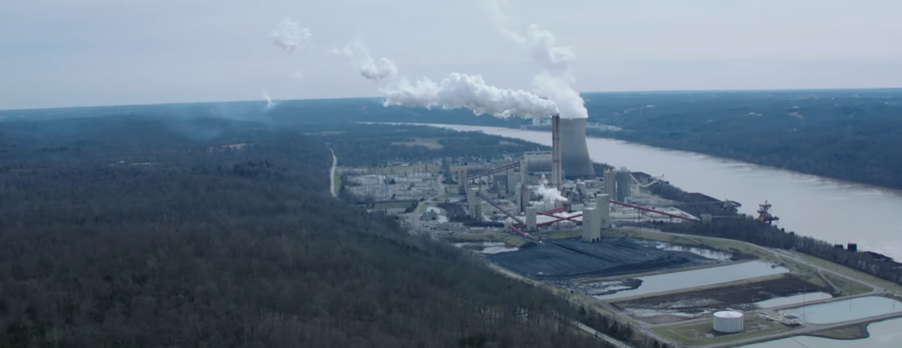 photo of chemical plant on the Ohio River