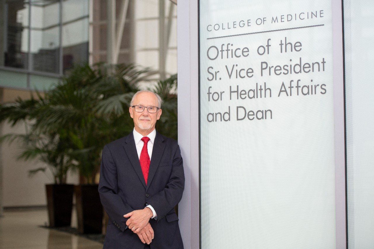 Andrew Filak, Jr., dean of the UC College of Medicine, is shown.