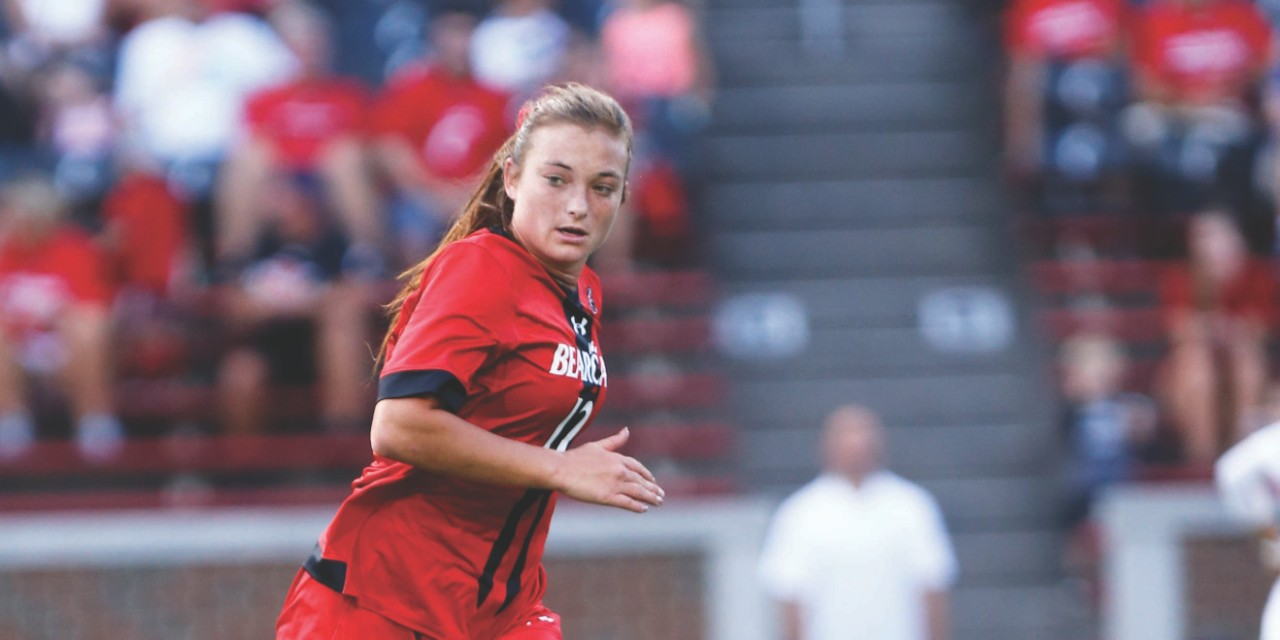 Sydney Goins, fourth-year nursing student and UC Women's Soccer player