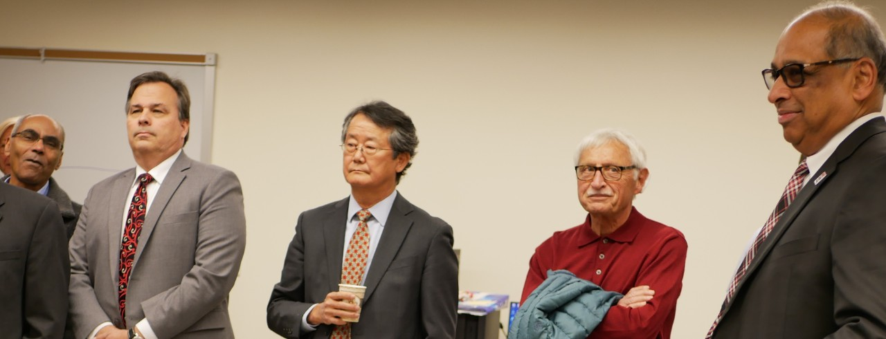 Guests remember Professor Ghia at lab naming event