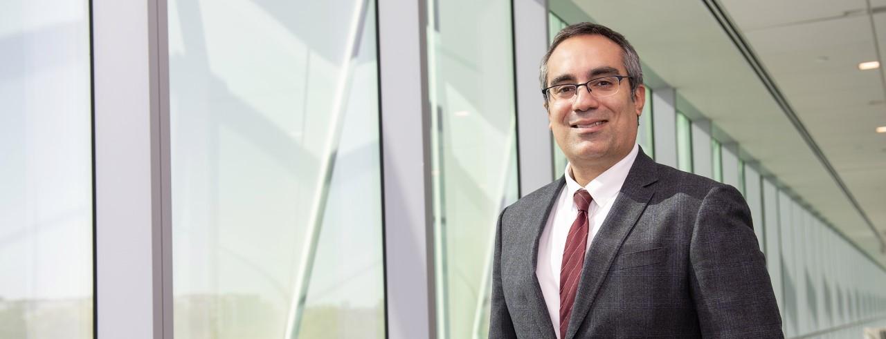 Ahmad Sedaghat, MD, PhD, shown in UC Gardner Neuroscience Institute