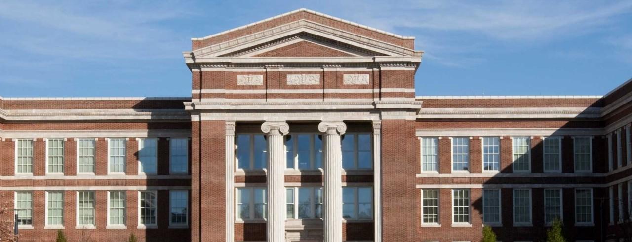 Baldwin Hall at the University of Cincinnati