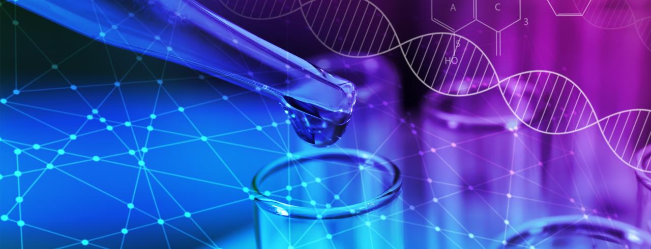 lab graphic stock image