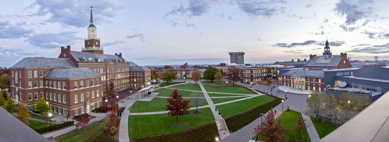 UC main campus panoramic shot