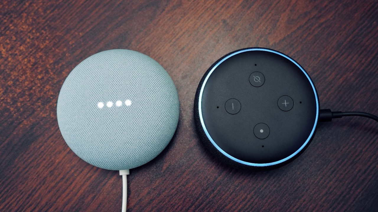 Smart speakers.