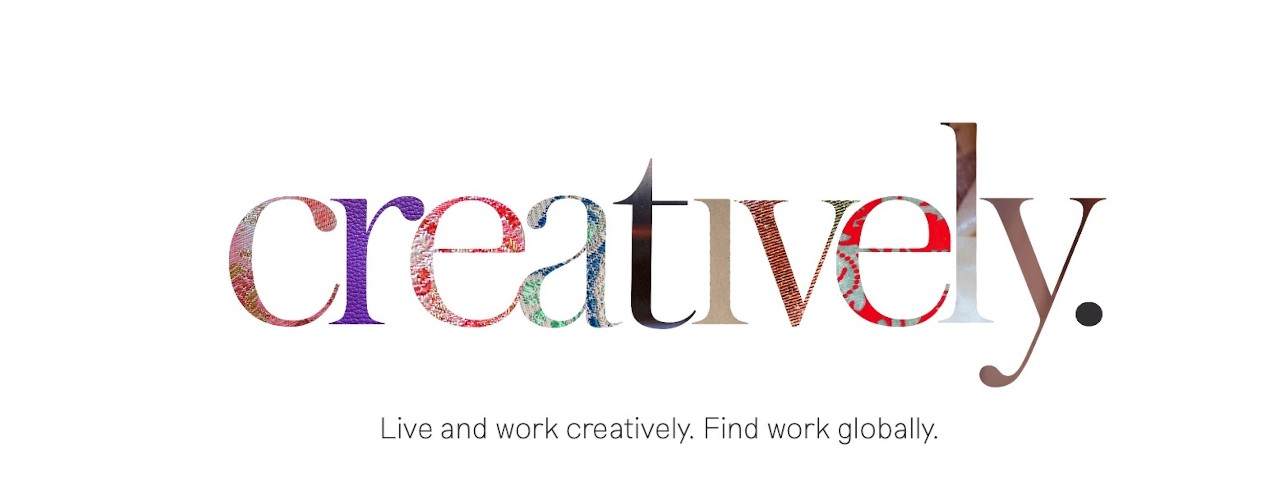creatively logo - live and work creatively. find work globally