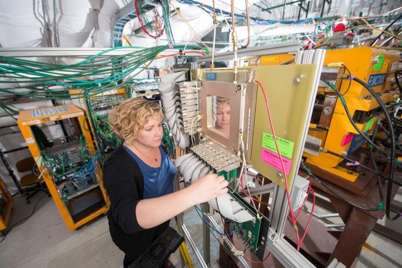 Jennifer Raaf works at Fermilab.