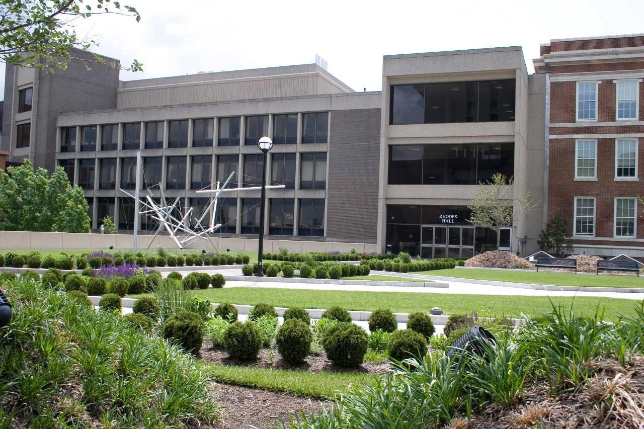 Rhodes Hall at the University of Cincinnati