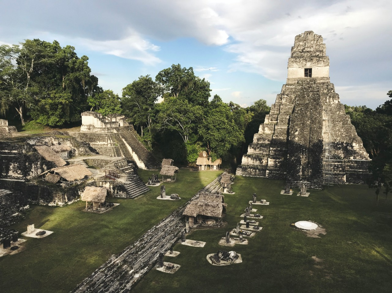 The ancient city of Tikal in Guatemala.