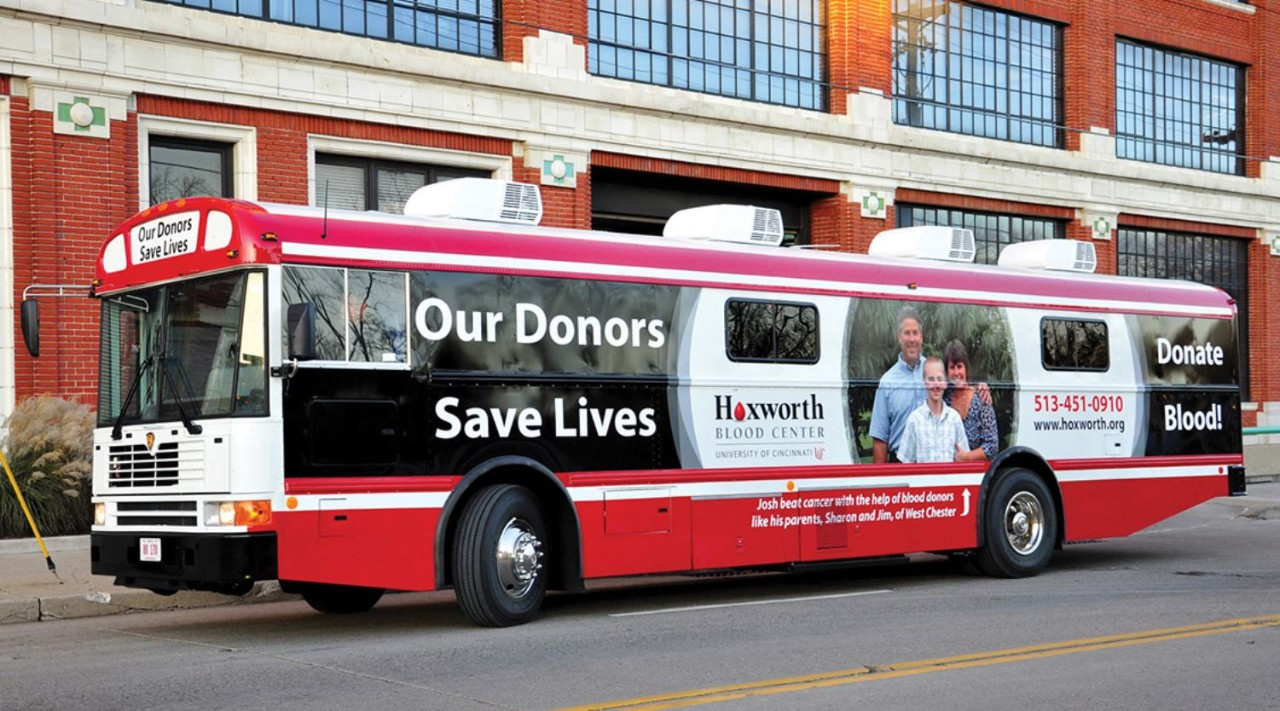 Hoxworth donor bus