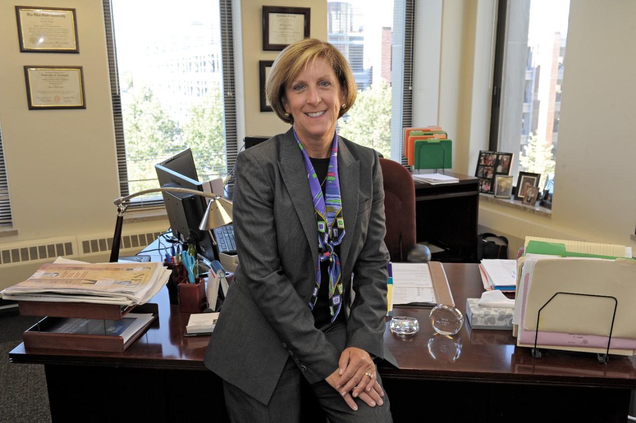 Dean Tina Whalen in her office