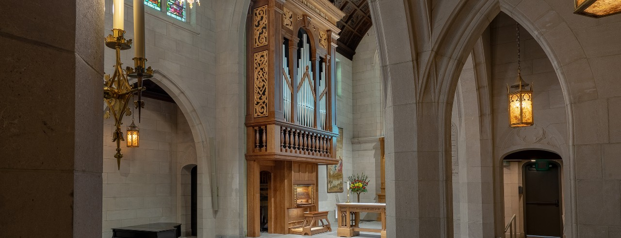 The C.B. Fisk Opus 148 Organ at Christ Church Cathedral