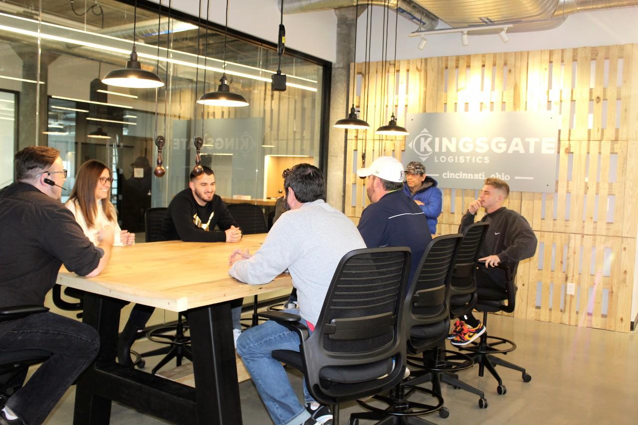 The Kingsgate Logistics innovation space at the 1819 Innovation Hub