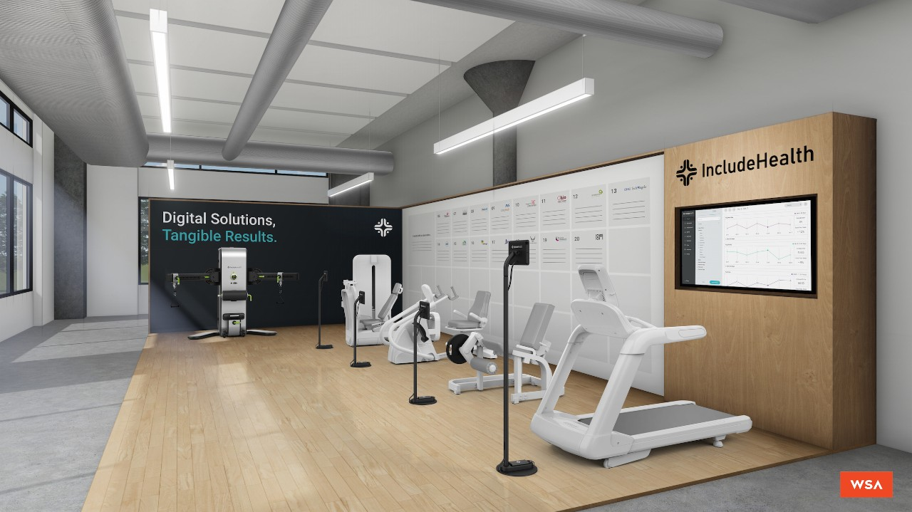 A space with several exercise machines