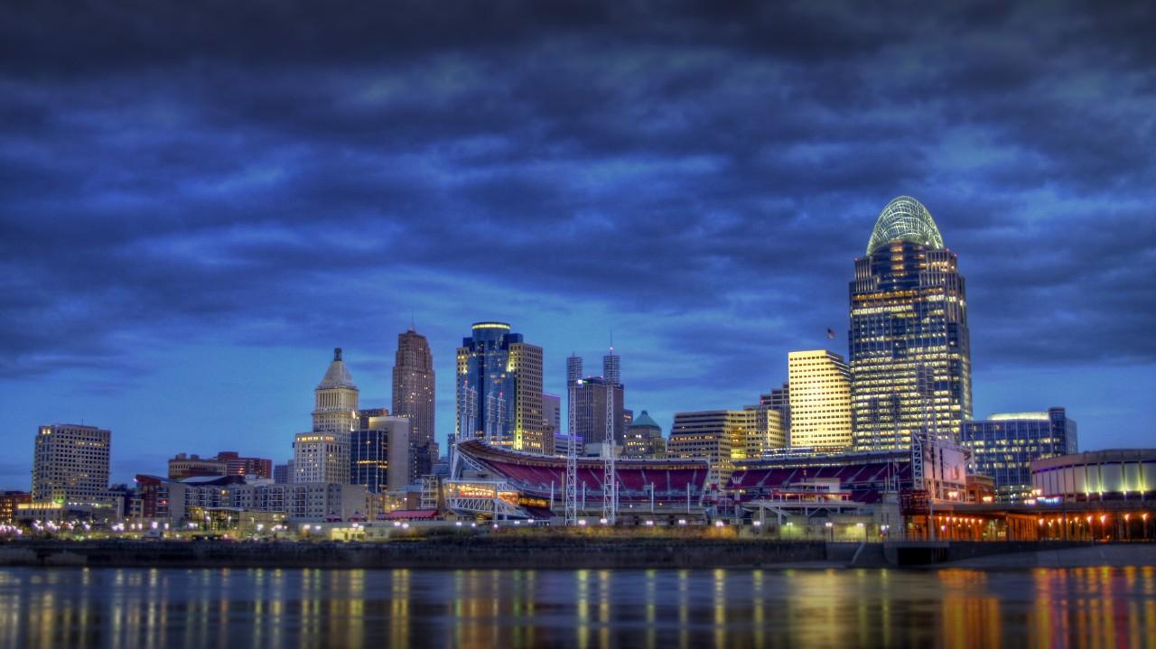 Cincinnati's skyline