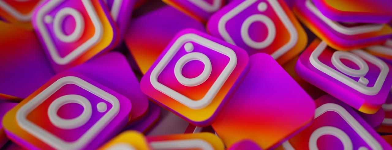 Artwork of Instagram logo
