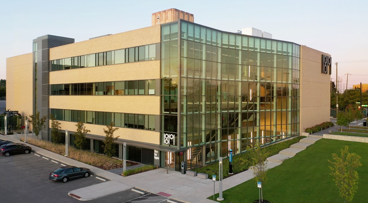 The 1819 Innovation Hub, home of UC's Office of Innovation