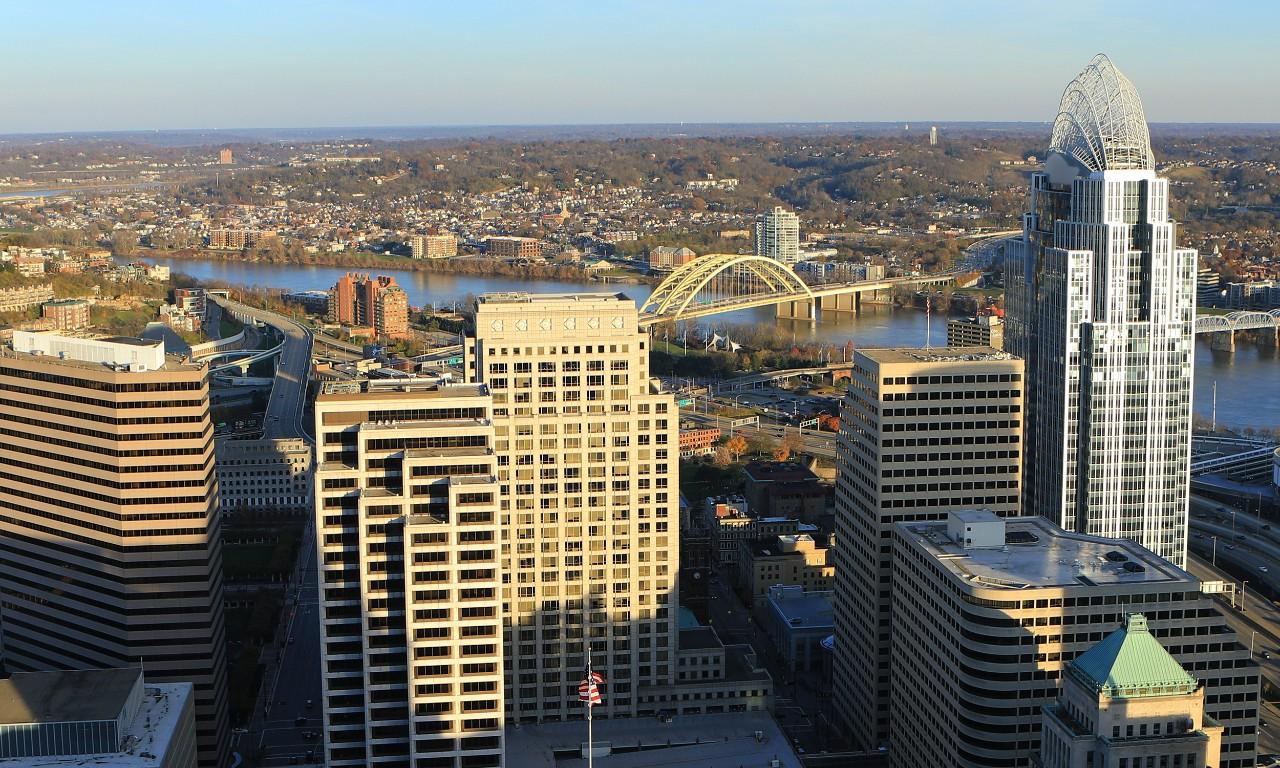 city view of Cincinnati