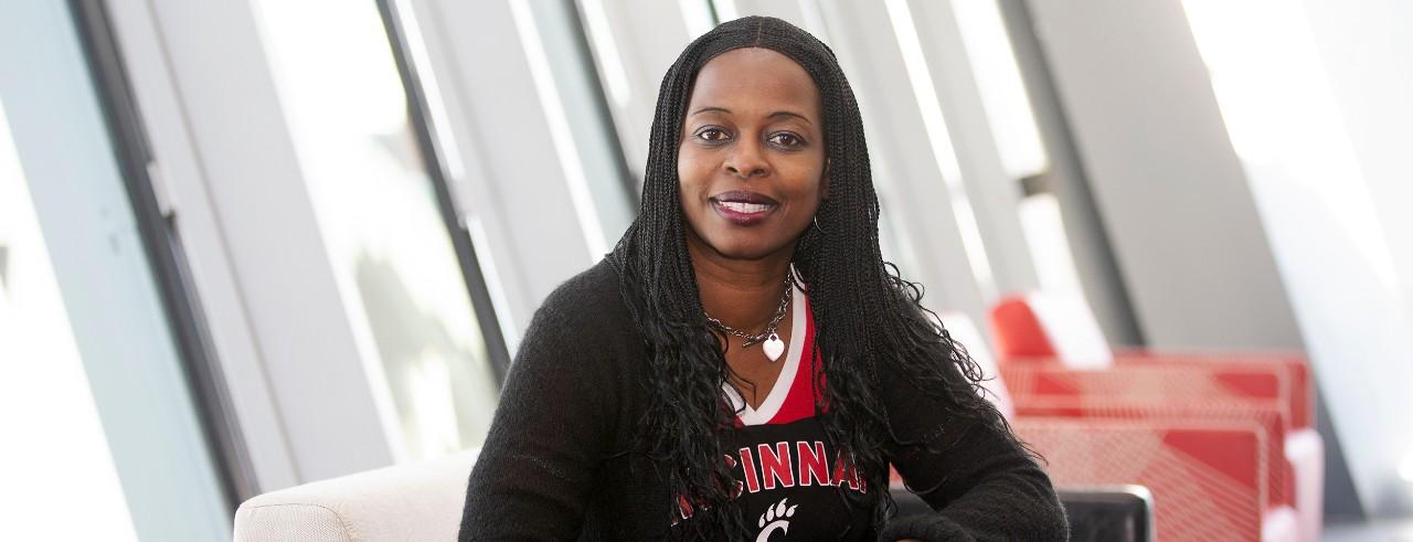 Alice Hicks coordinates the CPS Success Coaching program at UC Blue Ash