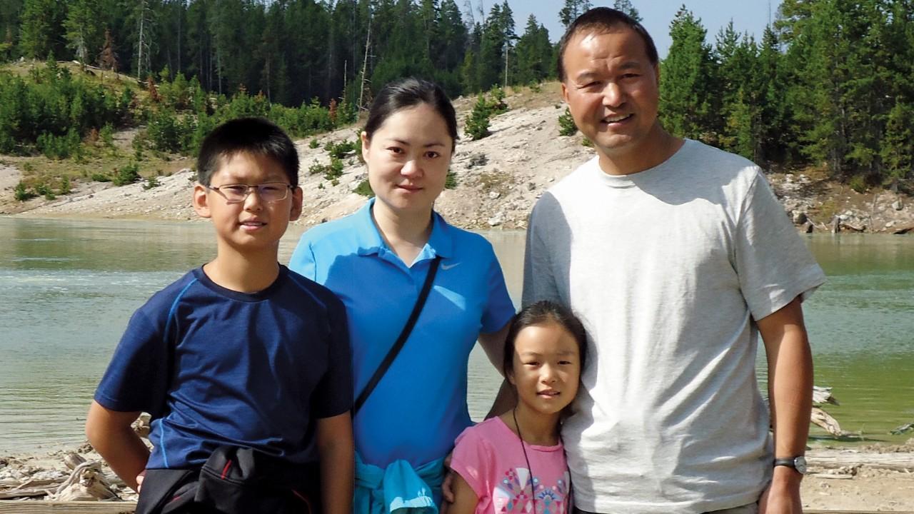 Shengchang Su and Family
