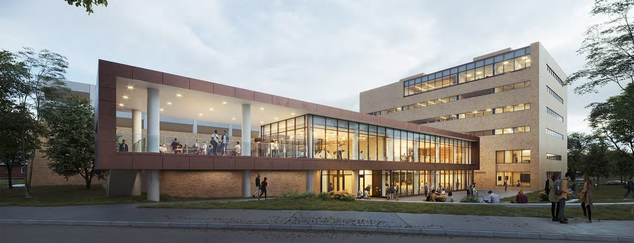 Rendering of New UC College of Law building