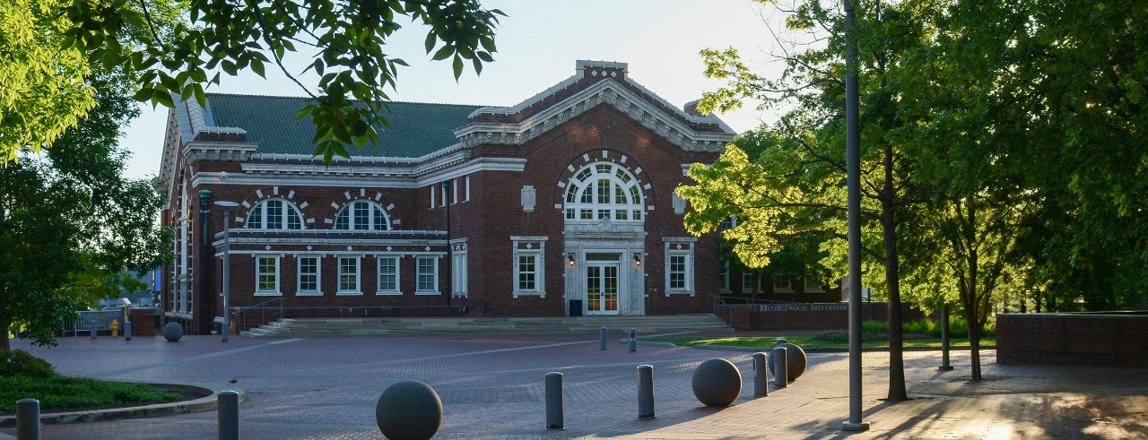 A photo of the Dieterle Vocal Arts Center, which is part of the CCM Village on UC's campus. Photo/UC Creative + Brand.