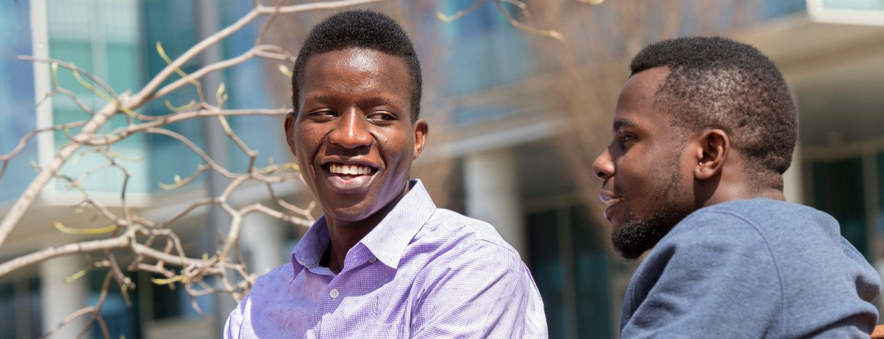 Global Opportunity Scholars Timoh and Zadekia of Tanzania