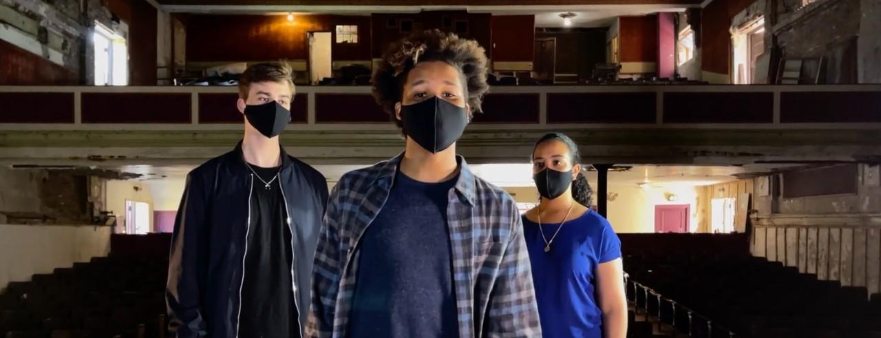 Three CCM freshman musical theatre majors perform in Cincinnati's Imperial Theatre.