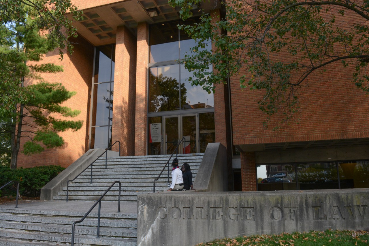 exterior of the College of Law