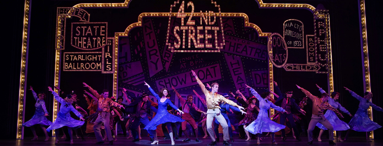 CCM's production of 42nd Street
