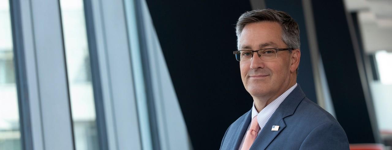 Cyber security expert Richard Harknett