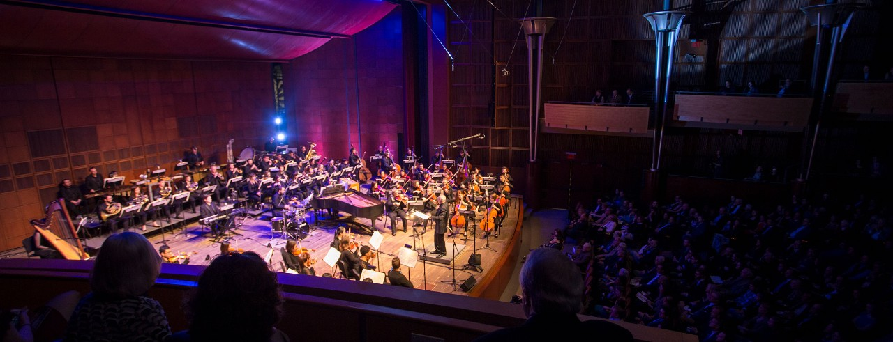 CCM Philharmonia and audience at Moveable Feast