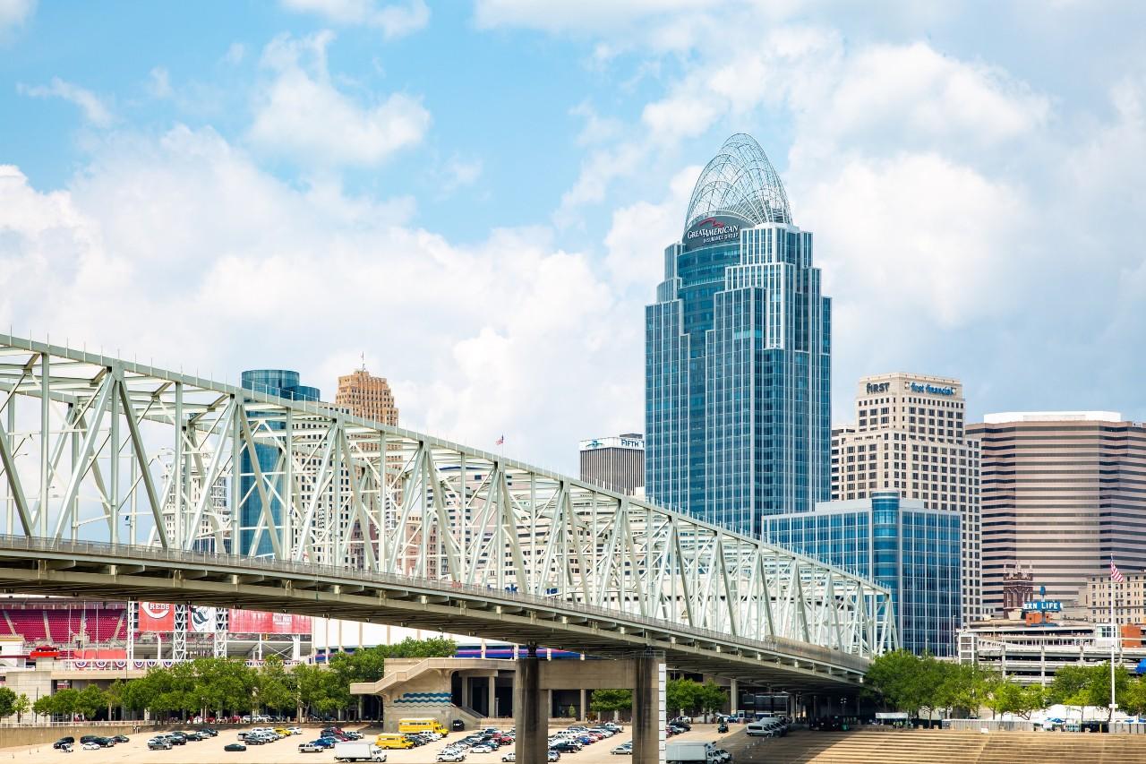City of Cincinnati skyline