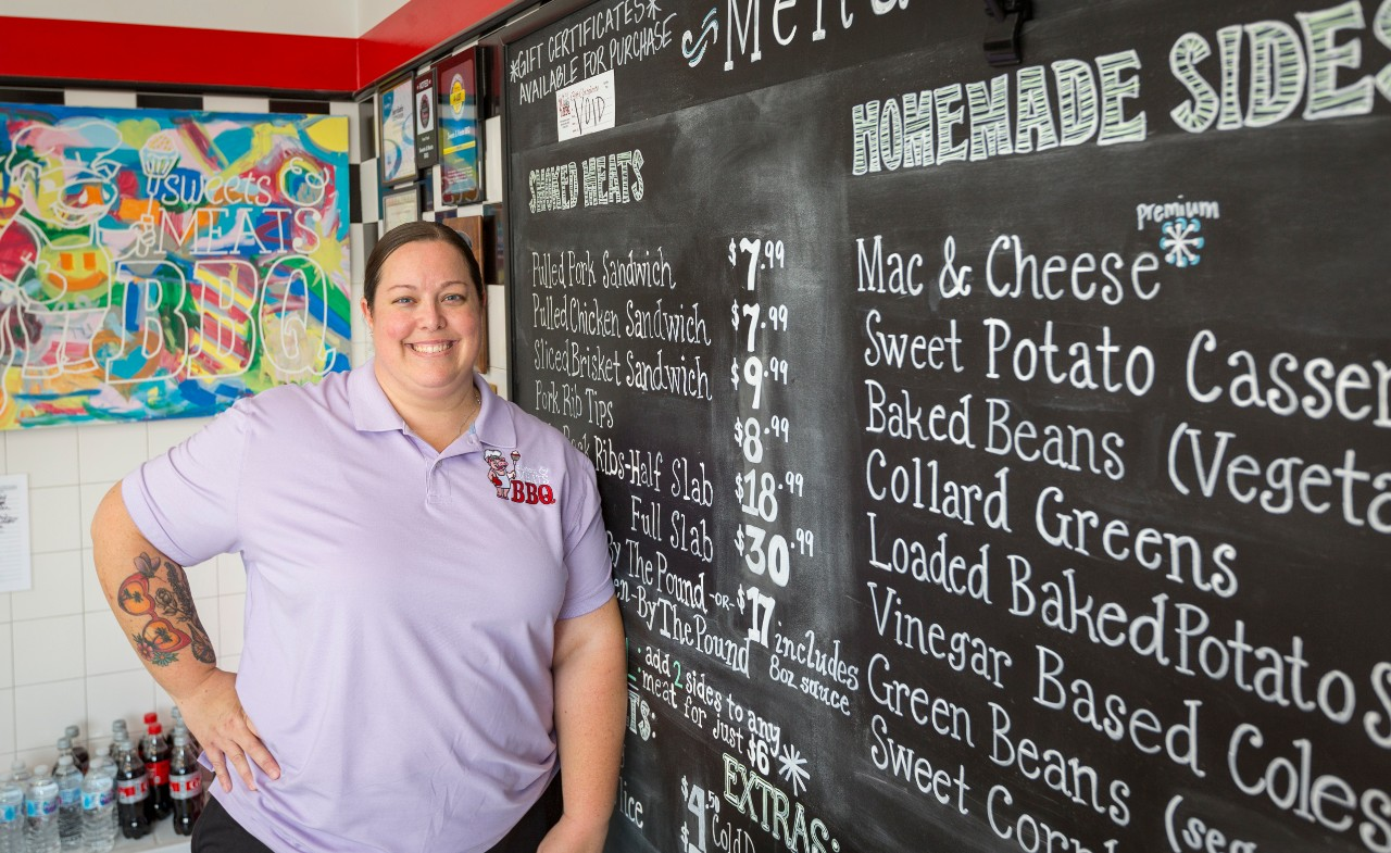 Kristen Bailey (CEO) of Sweets & Meats BBQ