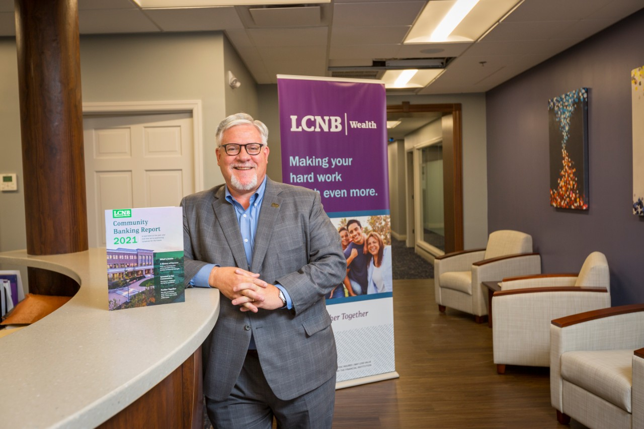 Michael Miller (Executive Vice President & Chief Wealth Officer) of LCNB National Bank