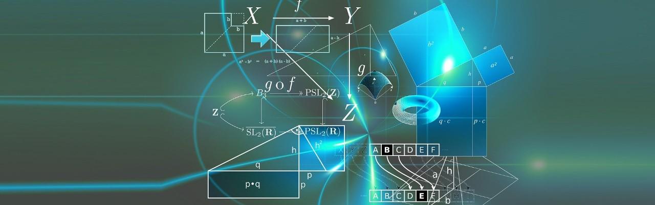 Graphic image depicting physics