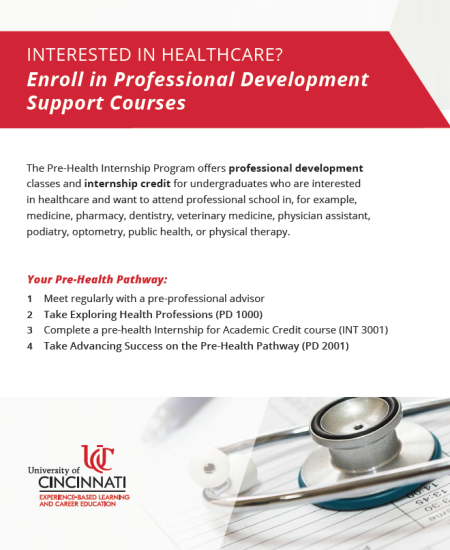 pre-health internship program